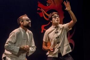 Josep V. Morales i Emili Chaqués a LE PARADIS BLAU